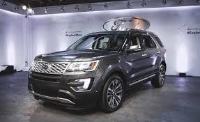 Ford Explorer Platinum - 2018 ford explorer platinum release autosdrive info