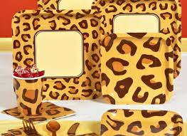 Cheetah Party Decorations Cheetah Print Party Supplies 100 Images 25th Wedding
