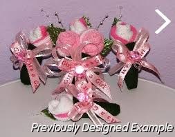 Baby Sock Corsage Baby Shower Corsages Baby Sock Corsages