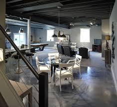 Concrete Loft Loft Style Basement Home Ideas Pinterest Loft Style