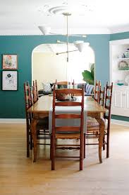 slate dining room table modern colonial dining room reveal u2014 m pettipoole