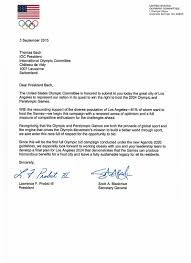 usoc la2024 release letters to ioc regarding candidacy to host