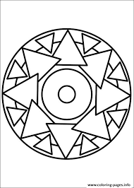 easy simple mandala 69 coloring pages printable