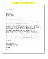 Business Letter Mailing Address Format Best Ideas Of Business Letter Format With Attention Line In Format