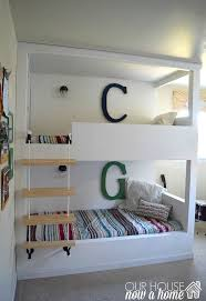 Built In Bunk Bed Boy Bedroom Overhaul With Built In Bunk Beds Hometalk