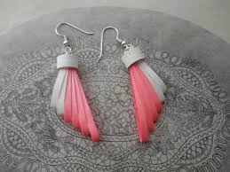 paper ear rings paper earrings how to make beautiful quilling earrings using
