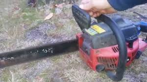 homelite d3850b chainsaw youtube