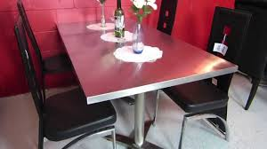 Modern Rectangle Dining Table Design Modern Rectangular Dining Table Collapsible Top For Easy Storage