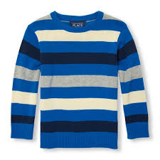 toddler boys sleeve multicolor stripe sweater the