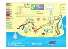 san jose cabo map hotels map of inn resort los cabos grounds provided to us by the