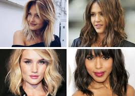 images of bouncy bob haircut hairstyles for medium mid length hair then and now