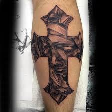 cross mens forearms religious