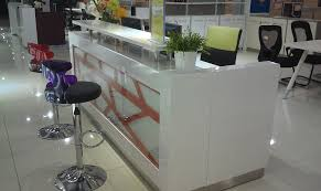 Small White Reception Desk How To Make A Reception Desk That S So Easy Nytexas