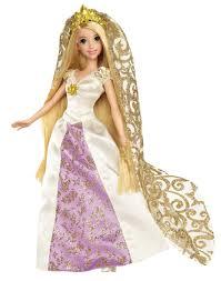 amazon disney princess rapunzel bridal doll toys u0026 games
