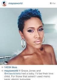 natural black hair styles short in back long in front the best natural tapered hairstyles bossip going back to short