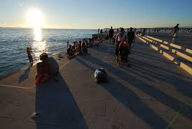 sounds and remixes of the zadar sea organ