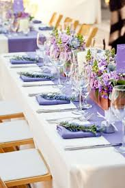 mariage et blanc décoration de mariage pour la table en 80 idées originales