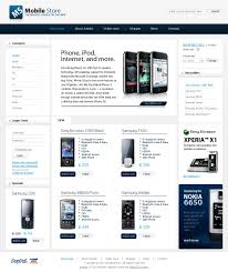 website design 28840 mobile store phone custom website design