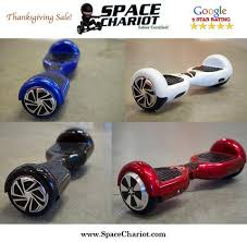 the space chariot thanksgiving hoverboard sale 199 99