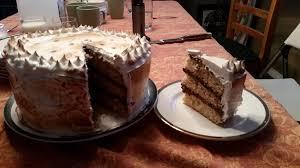 oc s u0027more birthday cake graham cracker cake chocolate mousse