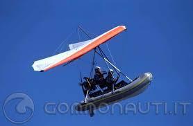 gommone volante volante