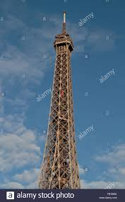 The Eiffel Tower by Close Up Of The Top Section Of The Eiffel Tower Paris France