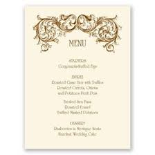 wedding menu cards wedding menu cards invitations by