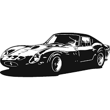 vintage ferrari art stickers ferrari 250 gto art u0026 stick