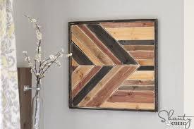 chevron wood wall wood chevron decor hacks