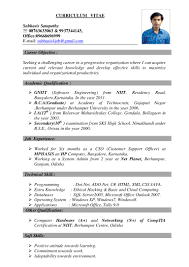 Best Resume Format Network Engineer by Resume Format For Hardware And Networking Engineer Free Resume