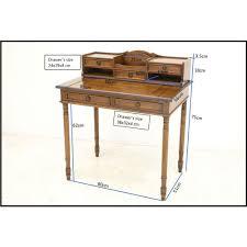 bureau secr aire bois bureau secrétaire en bois tradition