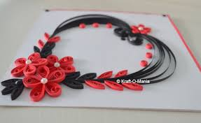 quilling cards designs lights decoration