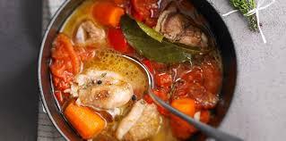 cuisine poulet basquaise poulet basquaise recette sur cuisine actuelle