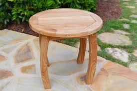 Teak Side Table Jakarta Teak Wood Side Table Tortuga Outdoor Of Georgia