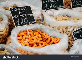 regional cuisine taralli traditional snack food typical stock photo 634905776