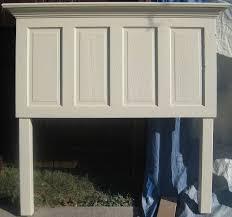 shabby chic doors size 4 panel door headboard hometalk