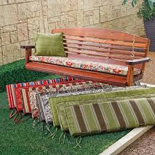 Adirondack Chair Cushions Lowes Furniture Porch Swing Cushions Long Bench Cushion Porch Swing