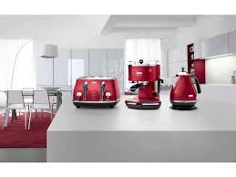 Toaster And Kettle Set Delonghi Icona Kbom3001 R