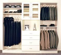 closet do it yourself closet kits 5 8 ft closet organizer with