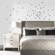 diy confetti dot wall in under 30 minutes roommates blog neutral confetti dots peel and stick wall decals