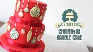 christmas bauble cake christmas collaboration youtube
