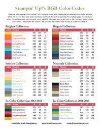 105 best stampin u0027 up kleuren images on pinterest color charts
