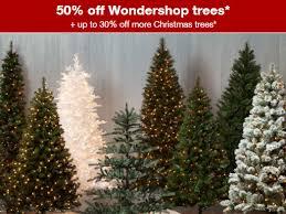 target 50 off christmas trees ftm