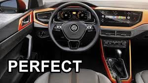 2018 volkswagen polo interior youtube
