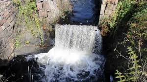 Rhode Island Waterfalls images 10 9 13 wyoming pond dam in rhode island brown trout jpg