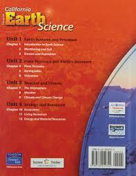 focus on california earth science california science explorer