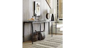 8 Foot Sofa Table Silviano Long Console Table Crate And Barrel