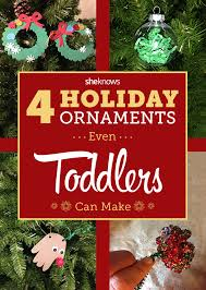 tree ornament crafts for toddlers