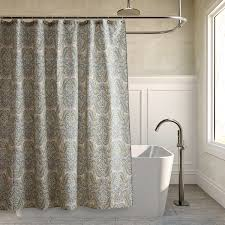 bathroom circle blue ikat shower curtain for bathroom decoration