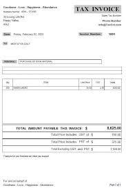 invoice template no gst invoice template with gst 28 images